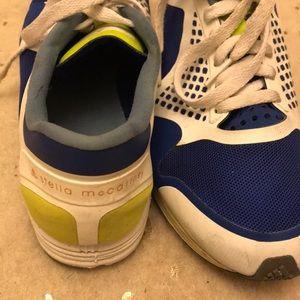 Stella Mccartney Adidas tennis shoes mesh